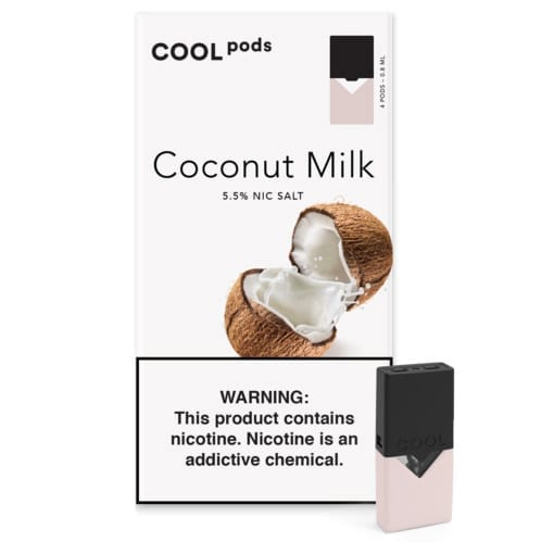Cool Pods- Coconut milk