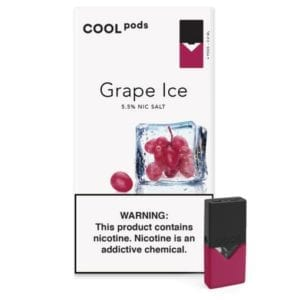 Cool Pods- Grape Ice