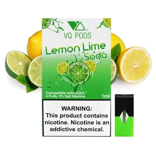 VQ Pods Lemon Lime Soda