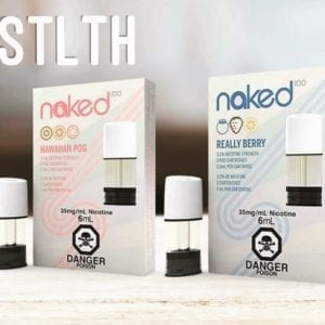 STLTH NAKED PODS