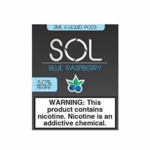 Sol Pods Blue Raspberry