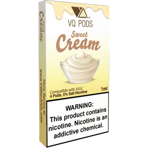 VQ Pods sweet cream