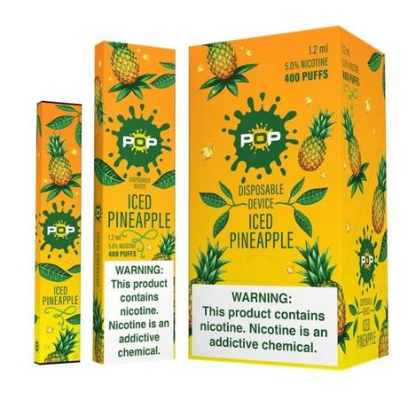 Pop Disposable Iced Pineapple