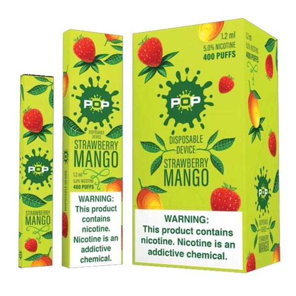 Pop Disposable Strawberry Mango