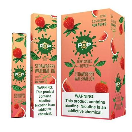 Pop Disposable Strawberry Watermelon