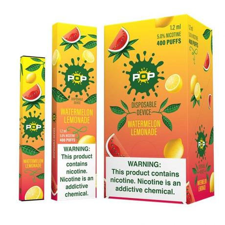 Pop Disposable Watermelon Lemonade