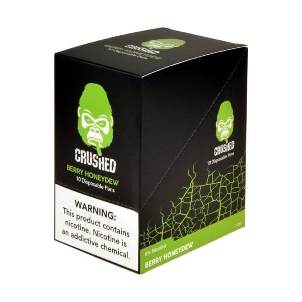Crushed Disposable Berry Honeydew 10 Pack