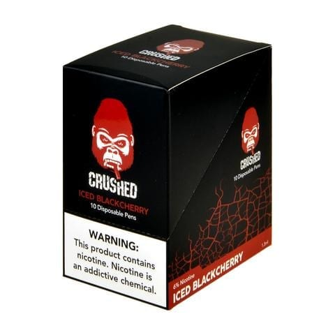 Crushed Disposable Iced Black Cherry 10 Pack