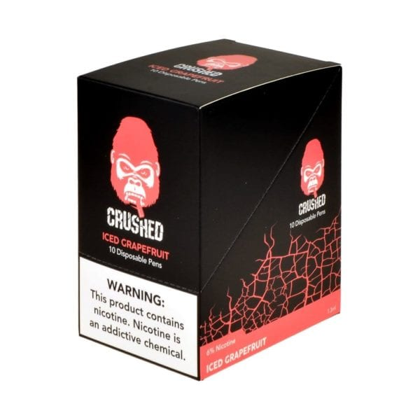 Crushed Disposable Iced Grapefruit 10 Pack