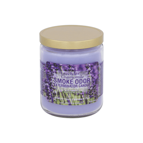 Smoke Odor Exterminator Candles Lavender With Camomile