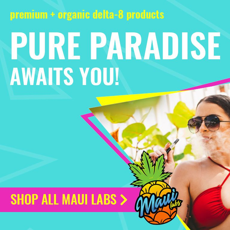 Maui Labs Delta 8 Products