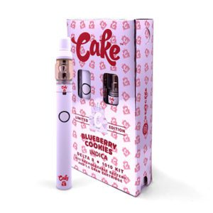cake d8 vape blueberry cookies indica